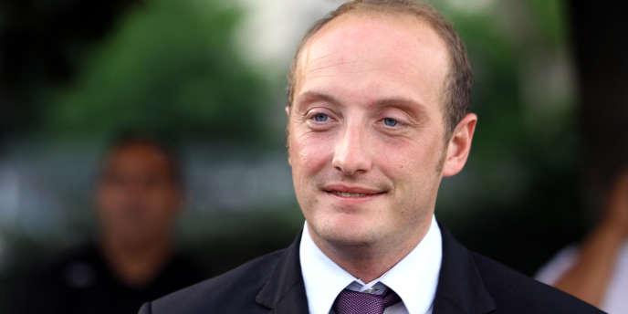 Le député UMP de Corse-du-Sud, Laurent Marcangeli, le 18 juin à Ajaccio.
