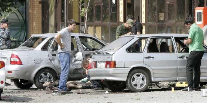 L'attentat-suicide survenu le 6 août en Tchétchénie à fait quatre morts et trois blessés.