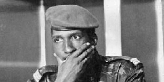 Thomas Sankara, président du Burkina Faso de 1984 à 1987.