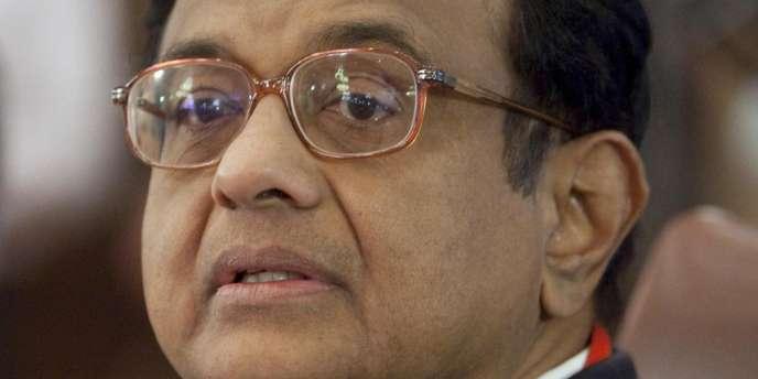 Le ministre indien des finances, Palaniappan Chidambaram.