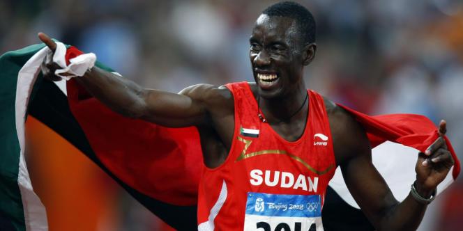 Le Soudanais Ismail Ahmed. Londres, le 23 août 2008.