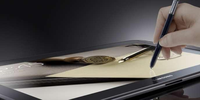 La nouvelle tablette de Samsung.
