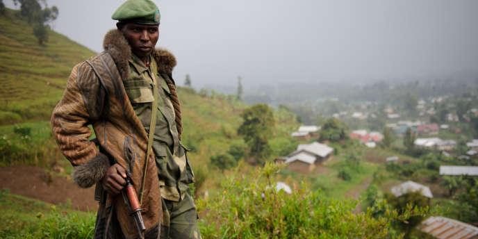 Un ex-soldat loyaliste qui a rejoint la nouvelle rébellion, le M23, à la suite de la remise en cause, par Kinshasa, d'un accord mettant fin aux affrontements en intégrant les rebelles dans l'armée congolaise.