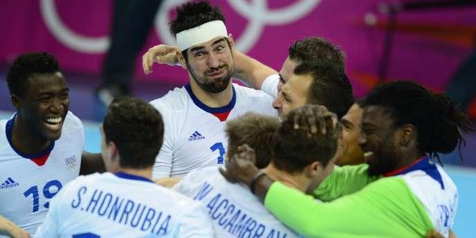 Les Experts peuvent souffler après leur qualification pour les demi-finales à Londres, le 8 août.