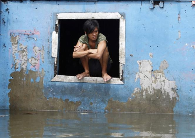 Les pluies de mousson qui se sont abattues en août sur les Philippines ont noyé la moitié de la capitale.