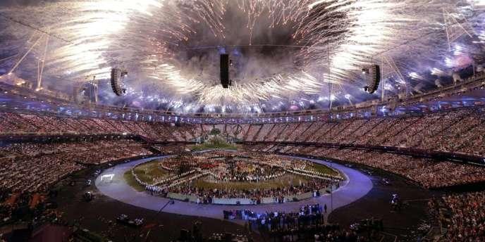 La cérémonie d'ouverture au Stade Olympique. Londres, le 27 juillet.