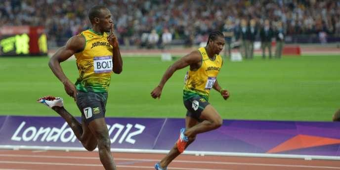Usain Bolt s'est régalé sur la piste londonienne.