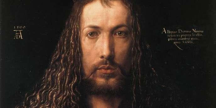 Albrecht Dürer, Autoportrait, (1500) Alte Pinakothek, Munich.