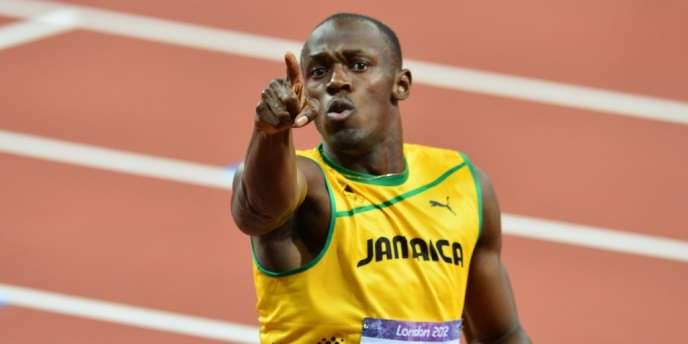 Usain Bolt, le 9 août à Londres.