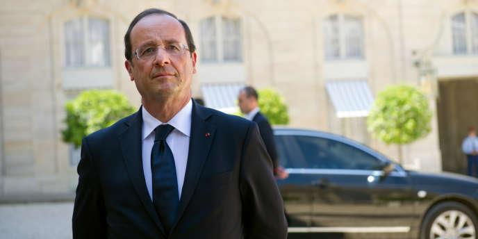 François Hollande, le 26 juillet.