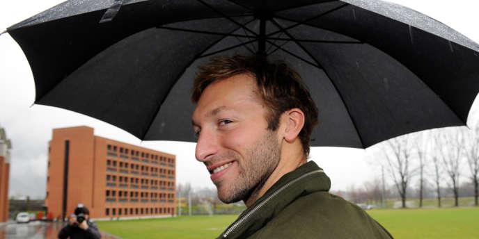 Ian Thorpe, ici le 16 mars 2011 en Suisse, où il s'entraînait en espérant décrocher une place pour Londres.