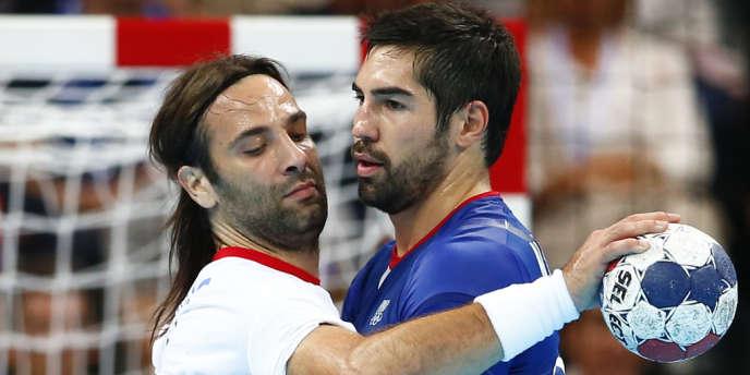 Croates et Français ne se quittent plus. Londres, demi-finale de handball, le 10 août.