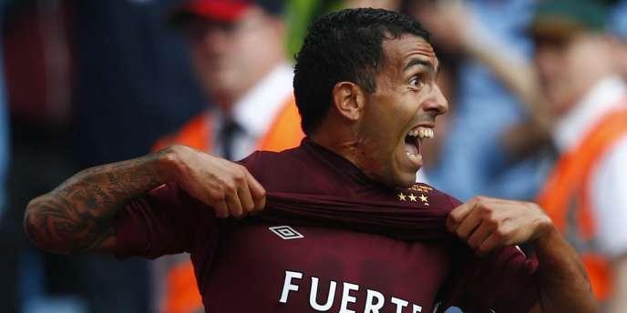 Carlos Tevez coule les espoirs des Blues. Birmingham, le 12 août.