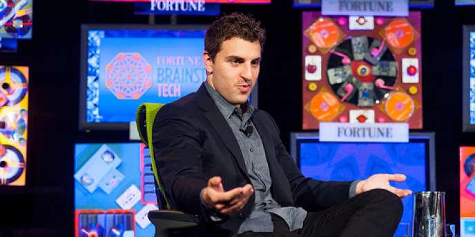 Brian Chesky intervient lors du Fortune Brainstorm TECH 2012.