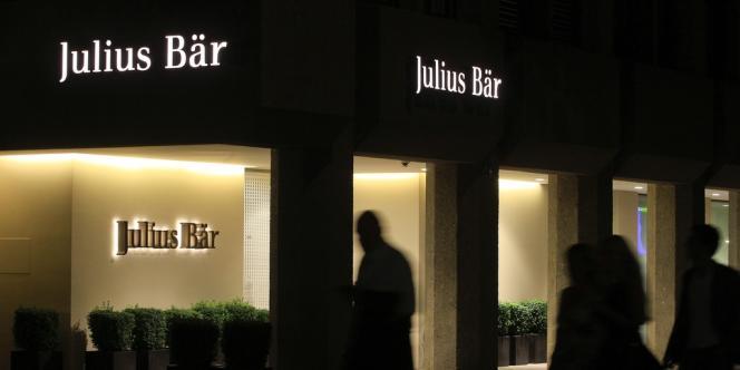La banque privée suisse Julius Baer a fait l'objet d'un vol de données.
