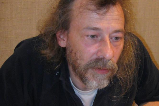Roland C. Wagner, en 2010, aux Rencontres de l'imaginaire de Sèvres (Hauts-de-Seine).