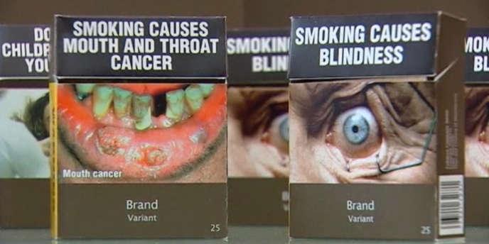En Australie,  il sera désormais impossible de différencier les paquets de cigarettes en fonction de leur marque.