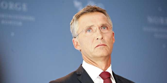 Le secrétaire général de l'OTAN, Jens Stoltenberg, le 13 août 2012.
