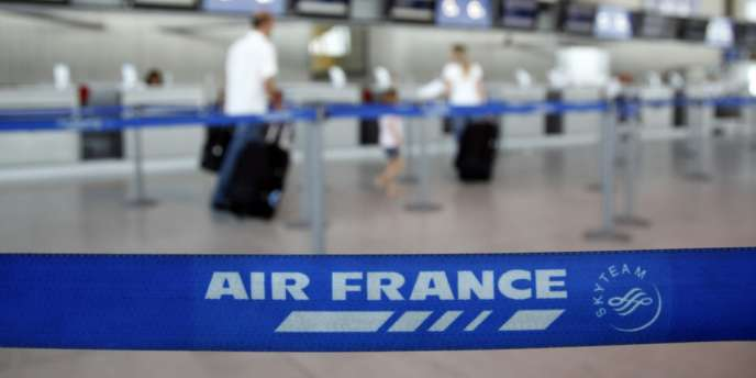 Les pilotes d'Air France, soutenus par tous les syndicats, appellent à une grève reconductible à partir du 15 septembre. Ici, à Orly.