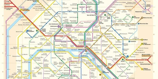 Le plan du métro parisien est désormais utilisable par les développeurs d'applications mobiles.