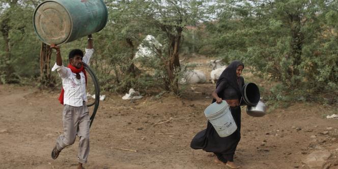 En Inde, l'Etat du Gujarat subit une forte sécheresse. Dans ce pays, El Niño affaiblit la mousson.
