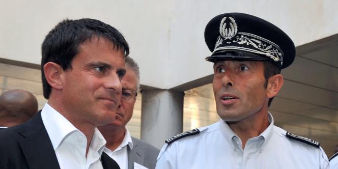 Manuel Valls, le 16 août à Aix-en-Provence.