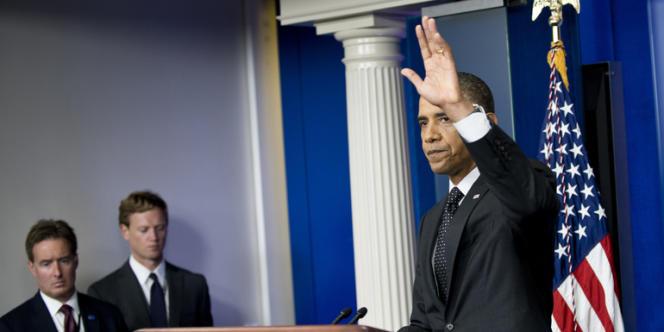 Les Etats-Unis ont prévenu que le déplacement ou l'utilisation d'armes chimiques en Syrie pourrait provoquer une intervention directe. Ici, le président Obama lors d'une conférence de presse, lundi20août2012.