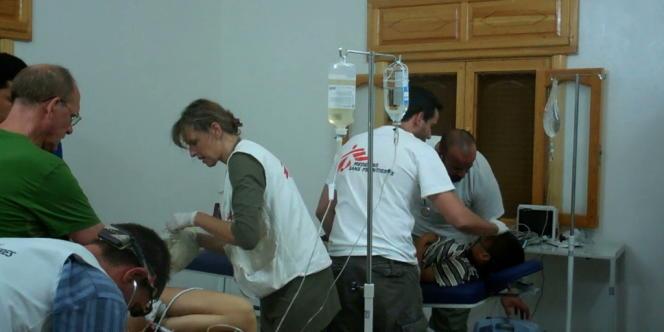 La situation des travailleurs humanitaires en Syrie est périlleuse.