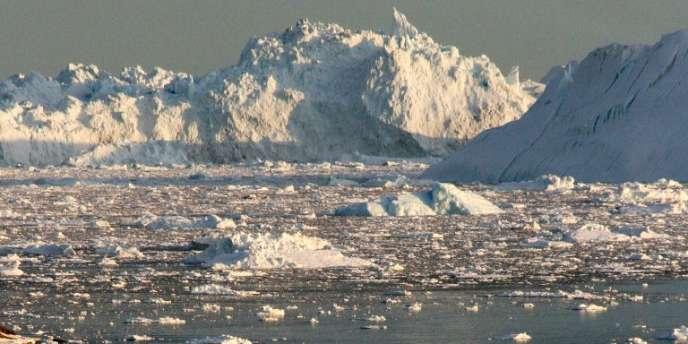 Sur la côte ouest du Groenland, en 2008.