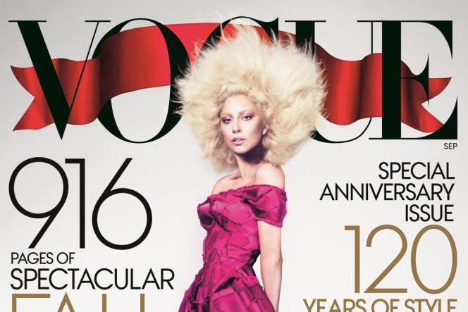 La une du Vogue US en septembre 2012.