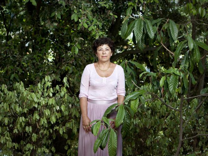 Monique Barbut, le 7 août, à Saint-Maxime, dans le Var.