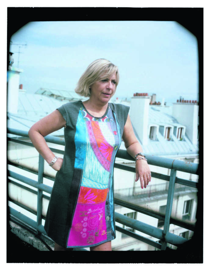 Anne-Marie Gaignard, à Paris, lundi 20 août.