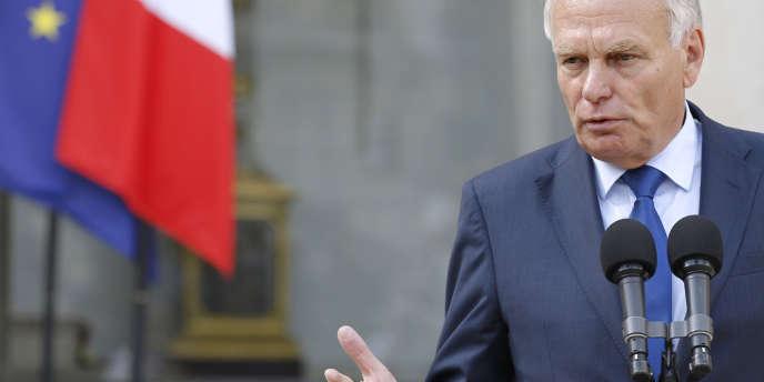 Jean-Marc Ayrault à l'Elysée mercredi 22 août.
