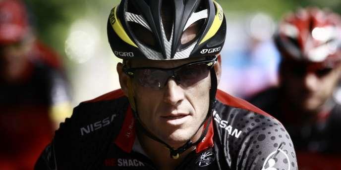 Lance Armstrong, le 1er juillet 2010.
