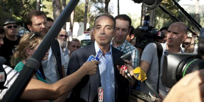 Jean-François Copé, vendredi 26 août à Nice, lors de la réunion des Amis de Nicolas Sarkozy.