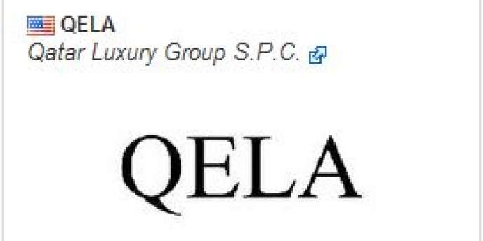 La marque et le logo de QELA, la future marque de luxe du Qatar Luxury Group, ont été enregistré le 21 octobre 2009 comme