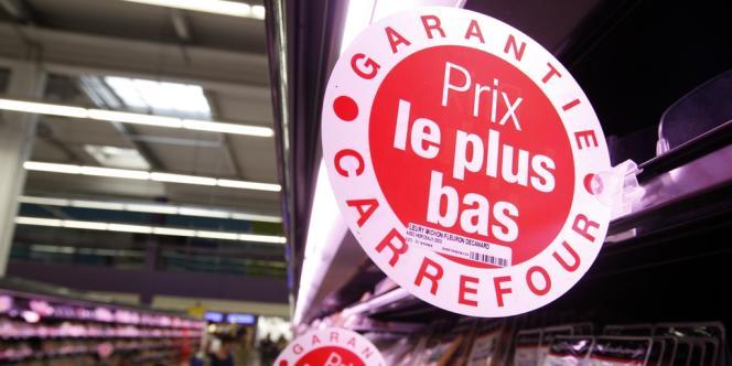 Le changement de discours chez Carrefour est spectaculaire. Le marketing a laissé la place au commerce.