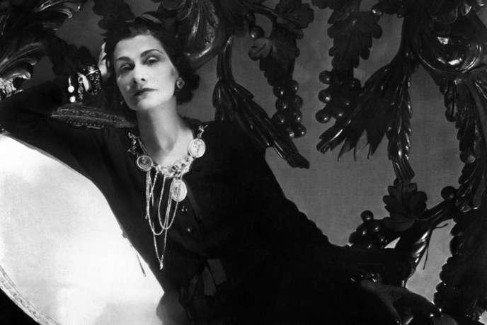 Coco Chanel, en 1944 à Paris.