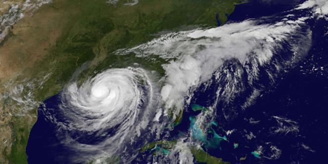 L'ouragan Isaac, le 28 août.