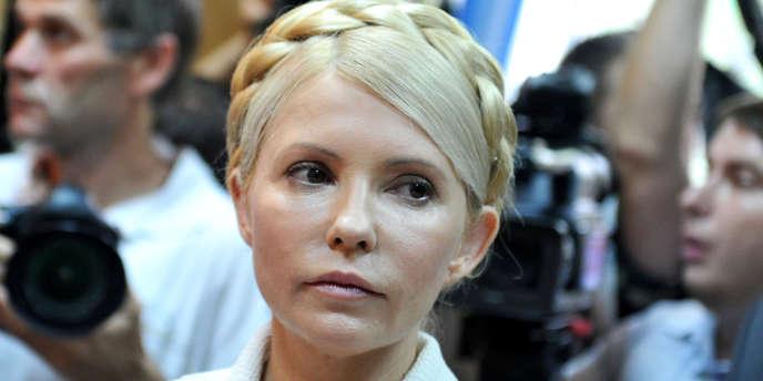 Ioulia Timochenko, le 24 juin 2011, à l'ouverture de son procès pour