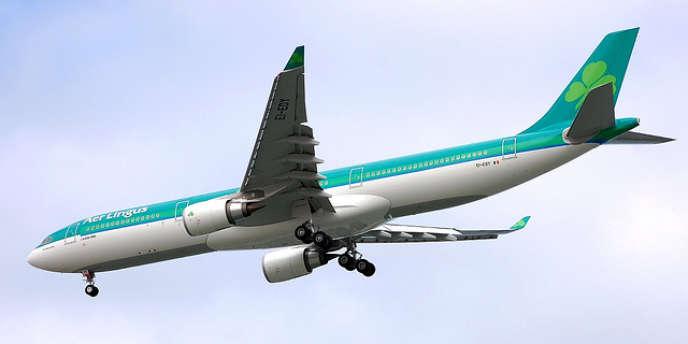 Un airbus A 330-300 de la compagnie Aer Lingus.