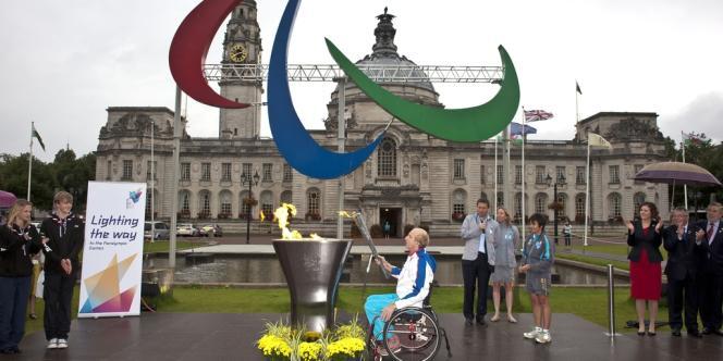 La délégation française compte en tout 153 athlètes handicapés, dont 4 en sport adapté.