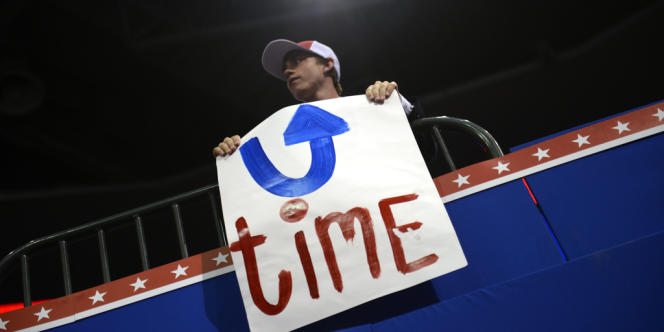 A la convention républicaine de Tampa, le 29 août.