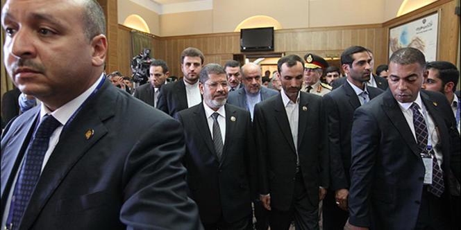 Le président égyptien, Mohamed Morsi, est arrivé jeudi à Téhéran.