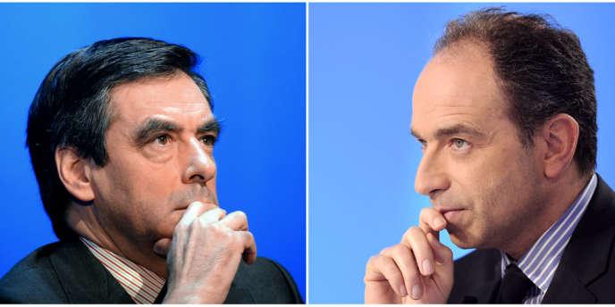 Jean-Francois Copé, secrétaire général de l'UMP, et Francois Fillon.