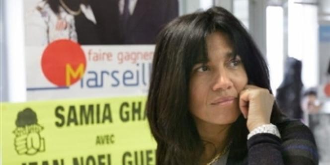 Samia Ghali, sénatrice socialiste.