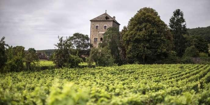 Le château Gevrey-Chambertin le 23 août 2012.