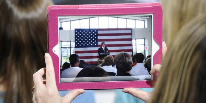 Comment la campagne américaine est perçue en France ?