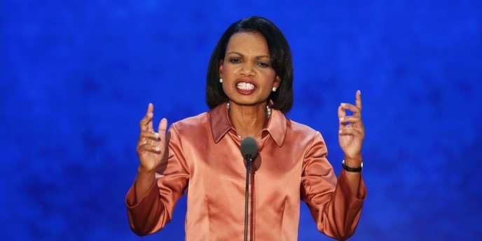 Condoleezza Rice devant les délégués à la convention républicaine, le 29 août 2012.