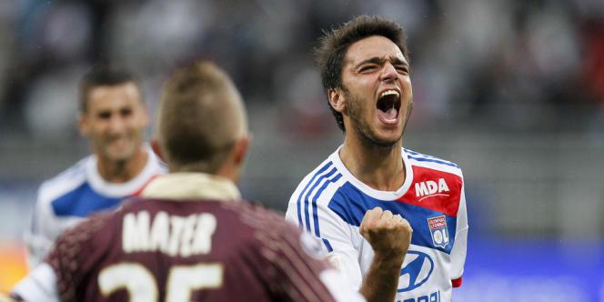 Buteur et décisif, Clément Grenier a été le meilleur Lyonnais contre VA.